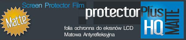 Folia ochronna screen protector film protectorPlus HQ matte pet nokia htc sony ericsson samsung lg gps
