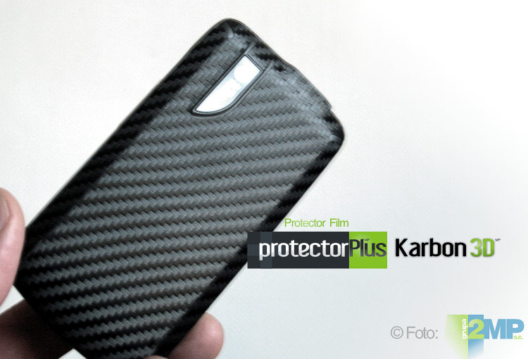 karbon 3D folia ochronna screen protector film protectorPlus HQ ultra clear